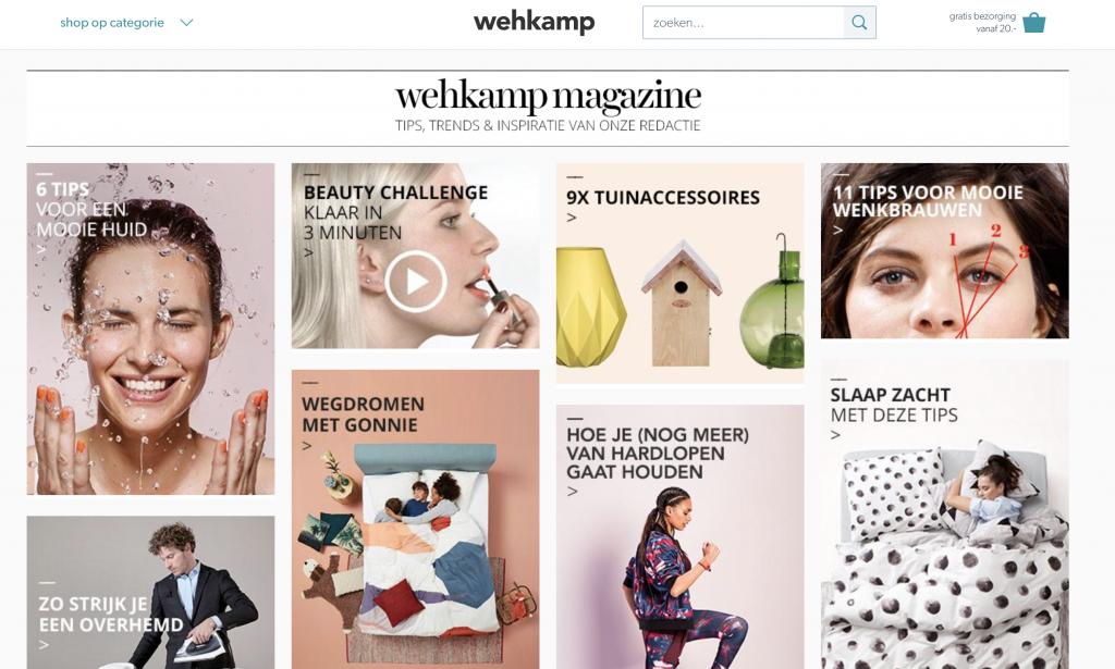 Blog Wehkamp