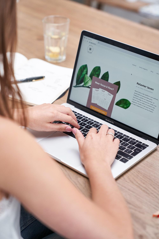 tekstschrijver website